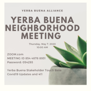 May 2020 Neighborhood Meeting Online