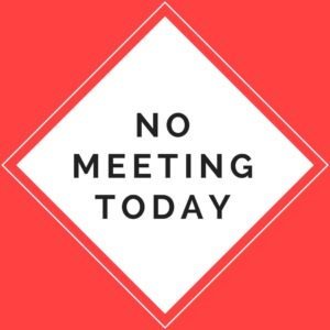September 3rd - No Meeting This Week