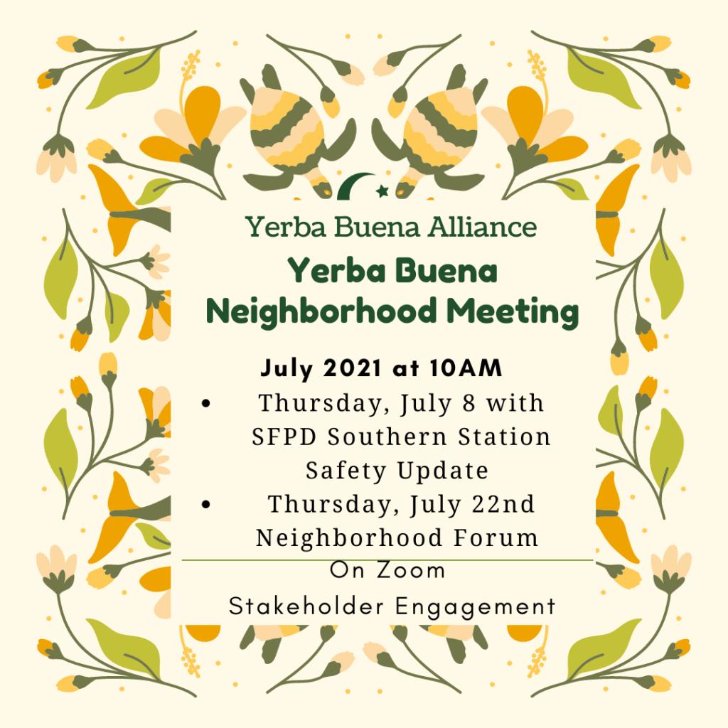 July 8th Neighborhood Meeting